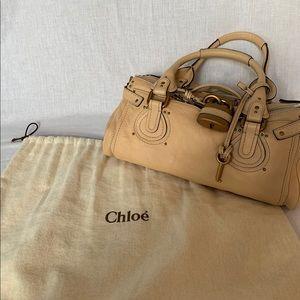 CHLOE Beige Handbag